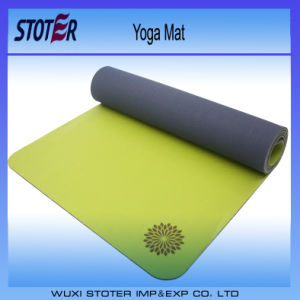 Custom Yoga Matt Eh048 6mm Extra Thick Yoga Mat pictures & photos