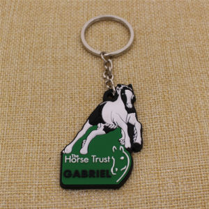 Wholesale Custom Your Branded 2D Soft PVC Keytag with Branded Logo pictures & photos
