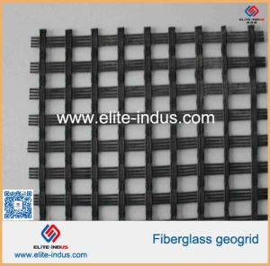 Road Construction Fiberglass Mesh Grid pictures & photos