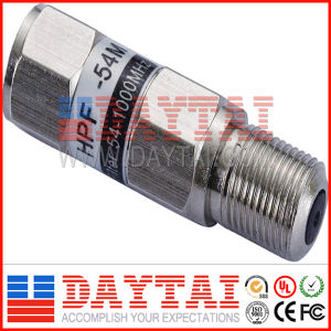 High Pass Different MHz Filter CATV Filter TV Signal Filter pictures & photos