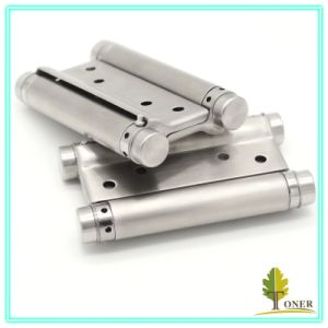 Stainless Steel 201 Spring Hinge/ 4-Inch (1.5mm) Double Action Spring Hinge pictures & photos