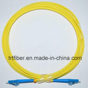 LC-LC Sm 9/125 Duplex 2.0mm 1m Fiber Optic Patch Cord Cable pictures & photos