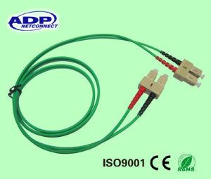 G652D Sm or 50/125 mm Simplex or Duplex LC Sc St FC APC Mu MTRJ Connector Pigtails Fiber Patch Cord pictures & photos
