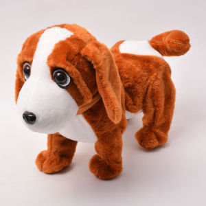 Perfect Child Toy Lovely and Soft Stuffed Plush Lying Dog Toy with High Qualtiy pictures & photos