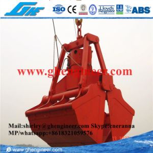 BV Remote Control Hydraulic Bulk Cargo Ship Grab pictures & photos