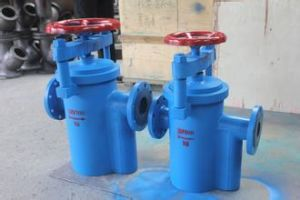 Quick Release Cover Handwheel Operated Flanged Basket Strainer (GBFC) pictures & photos