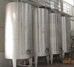 Stainless Steel Mirror Polishing Storage Tank