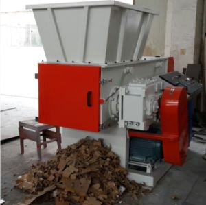 Waste Plastic and Wood Recycling Shredder pictures & photos