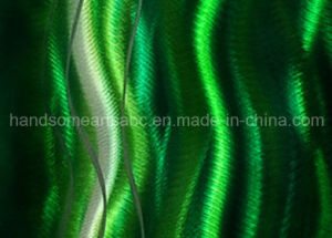 Abstract Green River Metal Wall Painting for Home Decoration (CHB6015029) pictures & photos