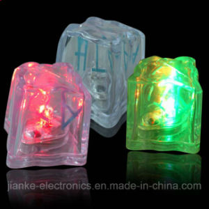 Flashing LED Light Ice Cubes with Logo Printed (3188) pictures & photos