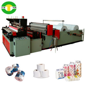 High Speed Auto Rewinding Toilet Tissue Roll Machine Manufacture pictures & photos