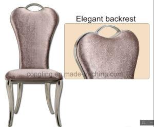 Luxury Design Noble Heart Shape White Dining Chair (B8080)