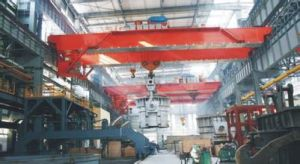 Molten Steel Lifting Casting Overhead Crane for Rolling Mill Shop pictures & photos