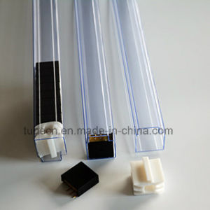 Transtparent Anti-Static PVC Packaging Tube for Buzzer or Hummer