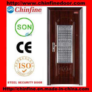 Steel Security Door (CF-D001) pictures & photos