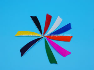 3 Inch Colorful Right Wing Shield Fletching Feather for Arrow