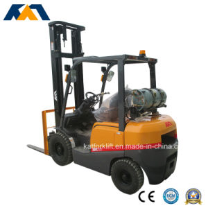 Promotional Price 2.5ton Nissan LPG Forklift, Mini Tractor for Sale pictures & photos