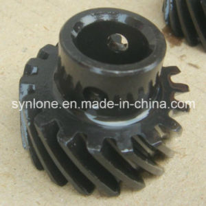 Custom Made Forging Helical Gear with Blacking Surface pictures & photos