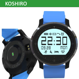2016 New Product Waterproof Bluetooth Smart Sport Heart Rate Watch pictures & photos