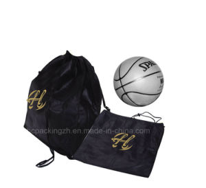 Football Oxford Drawstring Bag for Gym pictures & photos