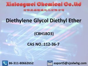 Diethylene Glycol Diethyl Ether (C8H18O3) / CAS No.: 112-36-7, as a Solvent pictures & photos