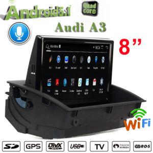 Hualingan Carplay Car DVD Player for Audi A3 GPS Navigation Digital TV Bt Can Bus Decode Box pictures & photos