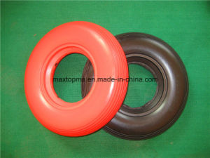 Colors Flat Free PU Foam Wheel pictures & photos