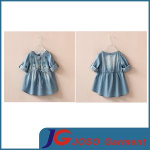 Children′s Clothes Fashion Jeans Skirt for Kids (JT5018) pictures & photos