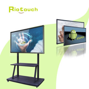 Riotouch Hot Sales LED Infrared Full HD 84′′ Touch Screen Monitor with Best Price