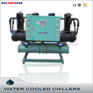 125kw Open Type Scroll Compressor Industrial Water Cooled Chiller pictures & photos