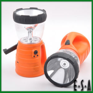 2015 Wholesale Hand Crank LED Camping Light, Latest ABS Camping Light, High Brightness Capacity Rechargeable Camping Light G01e111 pictures & photos