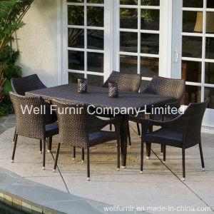 7-Piece Hampton Rattan Dining Set / Rattan Dining Chair pictures & photos