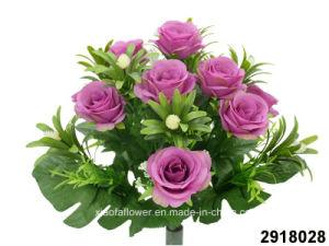 Artificial/Plastic/Silk Flower Rose Bush (2918028) pictures & photos