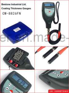 Standard Type Coating Thickness Gauges with F&NF Probes Cm-8826fn pictures & photos