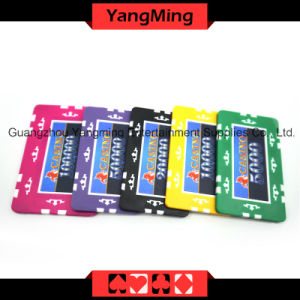 760 PCS Texas Holdem Style /Clay Sticker Poker Chip Set for Gambling Game (YM-MGBG002) pictures & photos