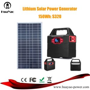 100W Multifunctional Solar Generator Solar Power System with Solar Panel pictures & photos