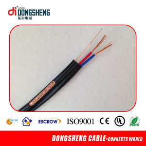Rg59 Coaxial Cable with Power Cable (CE/RoHS Certificated) pictures & photos