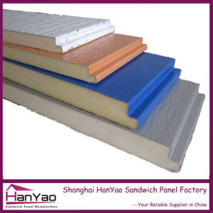 New Customized Thermal Insulated Polyurethane PU Sandwich Panels pictures & photos