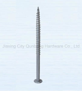 Hot Dipped Galvanized Ground Screw (Qbh008, Screw Pile) pictures & photos