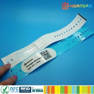 13.56MHz MIFARE Ultralight printable custom wideface vinyl wristband pictures & photos