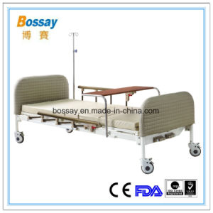 High Quality Hospital  Bed with Two Cranks pictures & photos