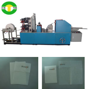 L-Folding Multi Colors Party Napkin Making Machine Manufacturer pictures & photos