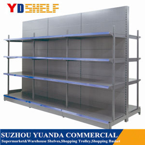 Cold Rolled Steel Heavy Duty Supermarket Shelf Shelving Display Rack pictures & photos
