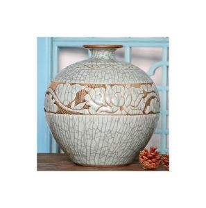 Chinese Antique Crackle Ceramic Flower Vase Lw988 pictures & photos