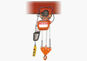 CE Approved Moving Chain Hoist (HHDD-H0.5-H1-K1-K2) pictures & photos