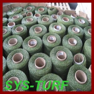 Professional Artificial Grass Yarn for Soccer Field pictures & photos
