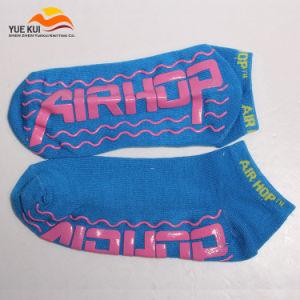 Trampoline Socks Cotton Anti-Slip Non Skid Jump Sock