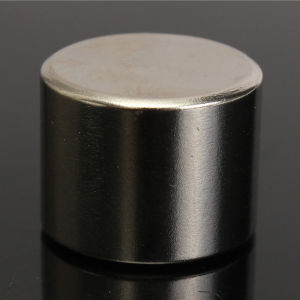 China Big Cylinder NdFeB Neodymium Magnet pictures & photos