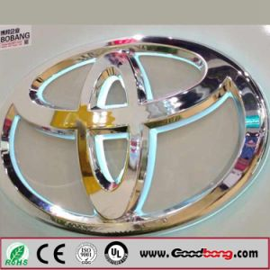 Customed High Quality Vacuum Acrylic LED Backlit Car Logo / Car Emblems pictures & photos