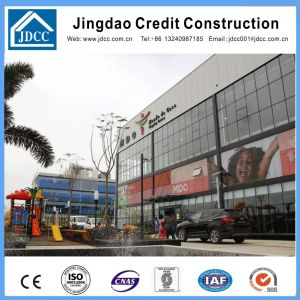Prefabricated Steel Structure Supermarket Building pictures & photos